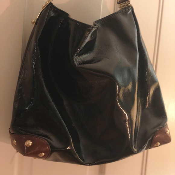 84e6e3598c1e Michael Kors Bags | Black Patent Leather Bag | Poshmark